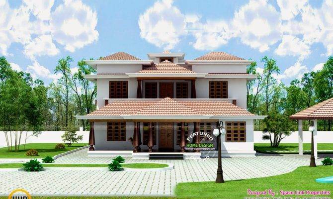 Typical Kerala Traditional House Home Design