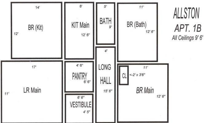 Typical Large Bedroom Floor Plan