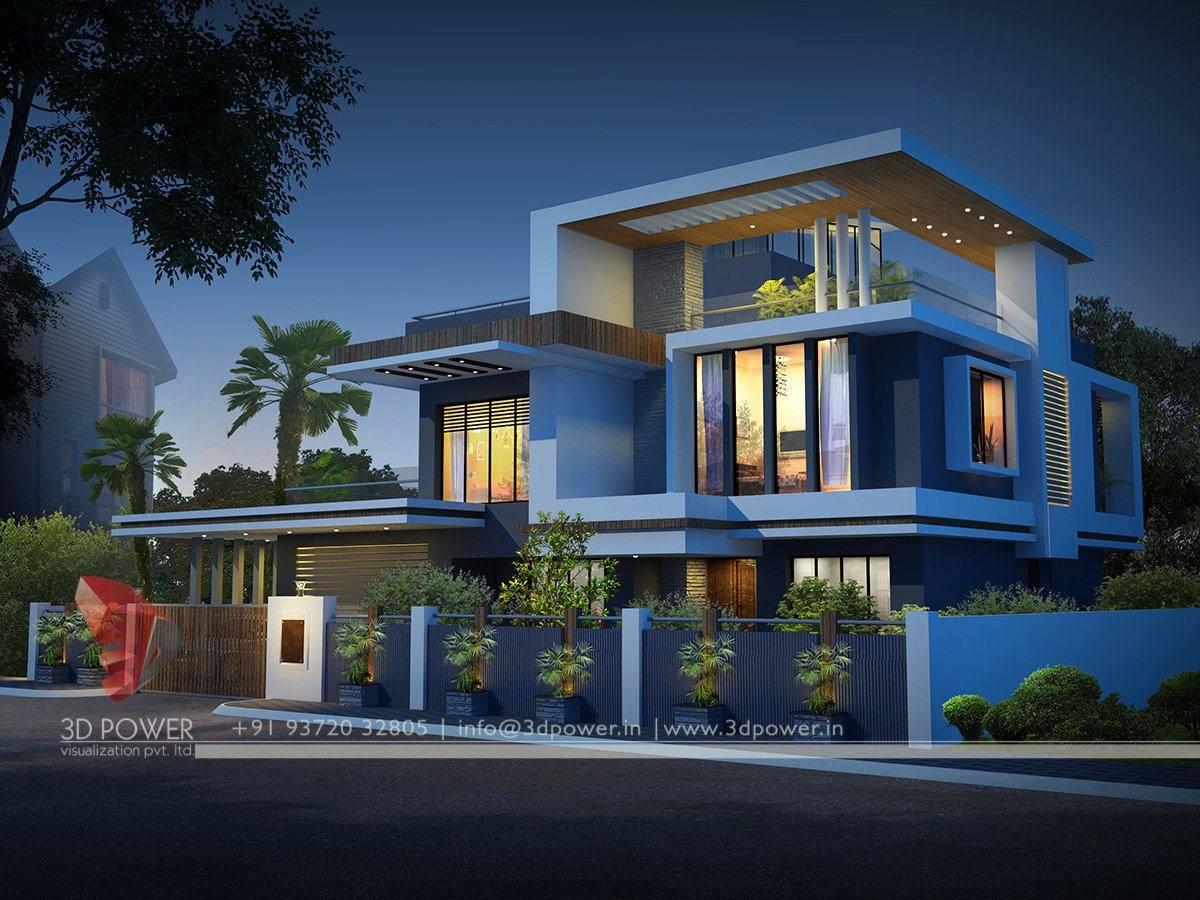 Designs Contemporary Bungalow Exterior