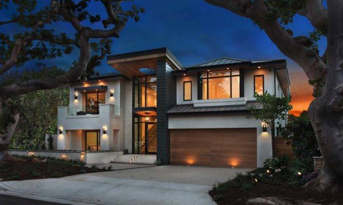 Ultra Modern Home Infused Warmth Newport Beach