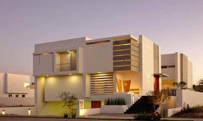 Ultra Modern Home Plans Contemporary House Designs