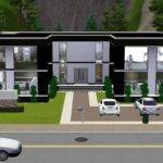 Ultra Modern House Plans Sims Home Design Style