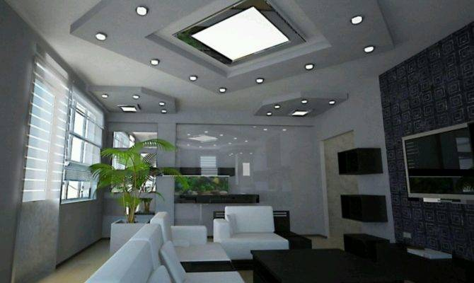 Ultra Modern Living Rooms Interior Designs Decoration