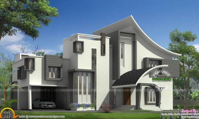 Ultra Modern Luxury Home Kerala Design