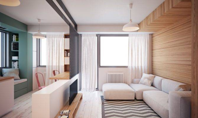 Ultra Tiny Home Design Interiors Under Square Meters