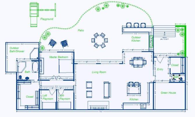 Underground Homes Plans Home