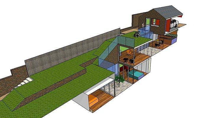 Underground Homes Plans Over Home