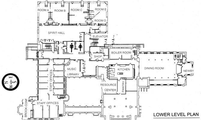 Union Church Floor Plans Hinsdale