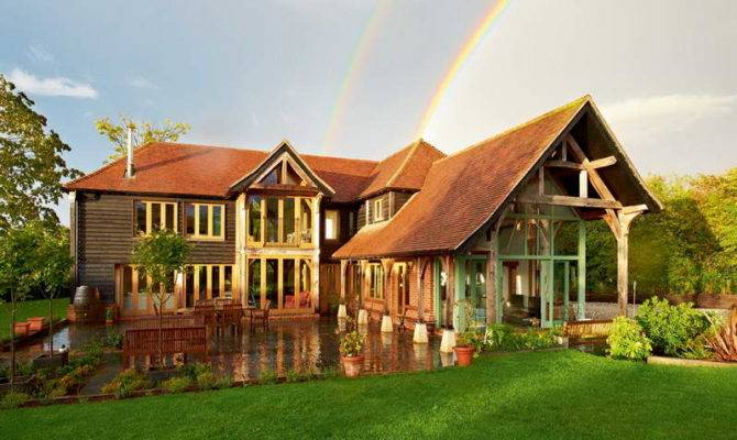 Unique Barn Style House Plans Green Grass