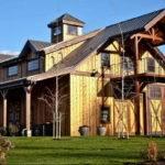 Unique Barn Style House Plans Wood Walls