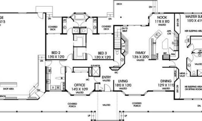 Unique Bedroom Ranch Style House Plans New Home