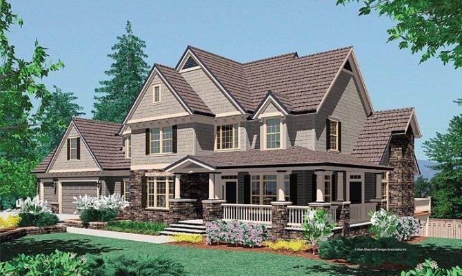 Unique Craftsman Country House Plans