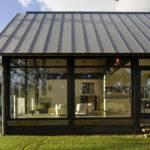Unique Design Modern Glass Contemporary House