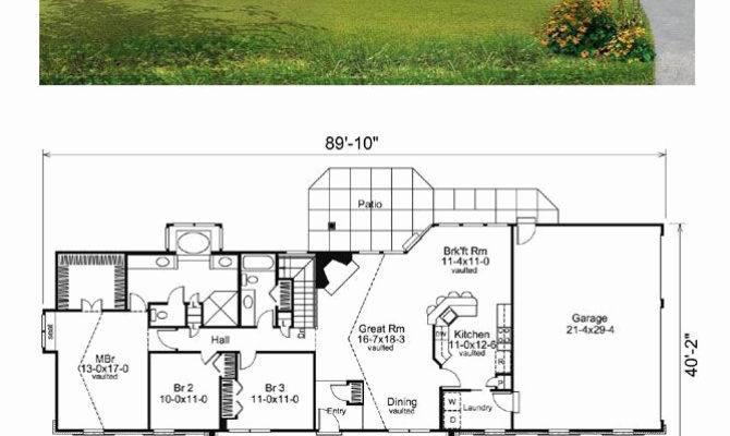 Unique Front Back Split House Plans