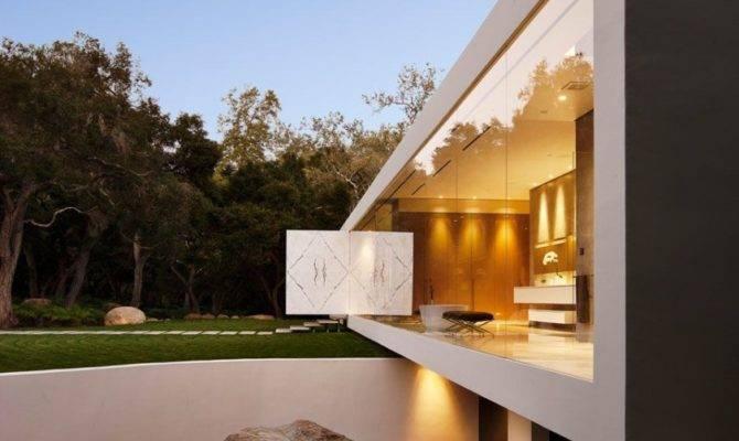 Unique Glass Pavilion California Steve Hermann