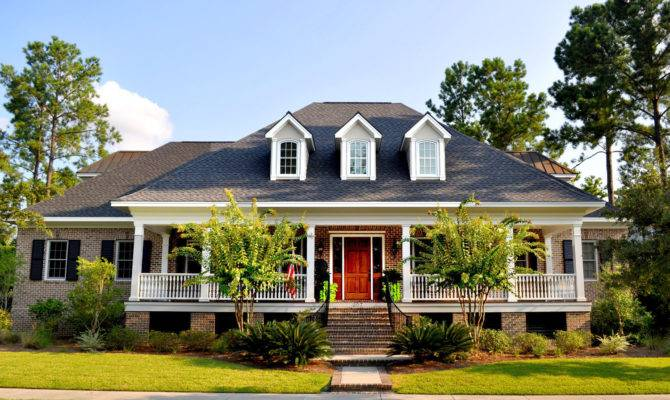 Unique Historic Charleston Style House Plans