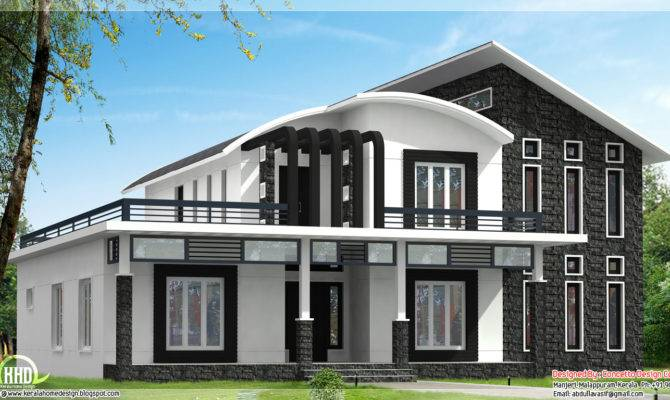 Unique Home Design Can Kerala