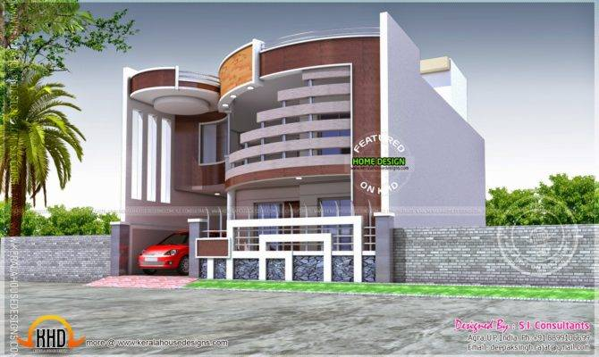 Unique House Ground First Floor Plan Kerala Home Design