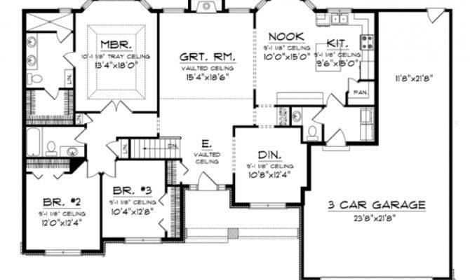 Unique House Plans Bay Windows Home