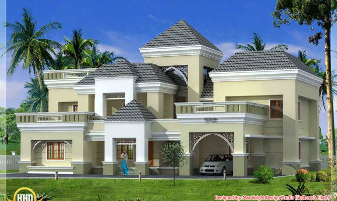 Unique Kerala Home Plan Elevation