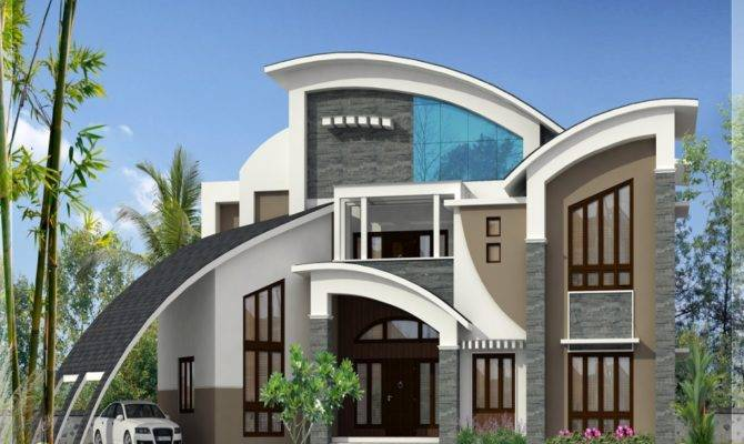 Unique Luxury Home Designs House