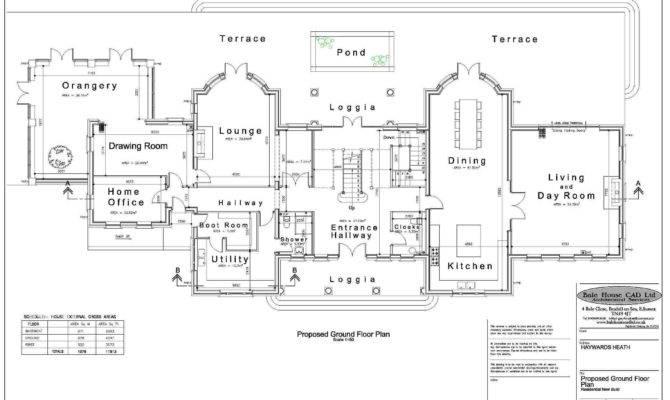Unique Mansion Home Plans Georgian Floor