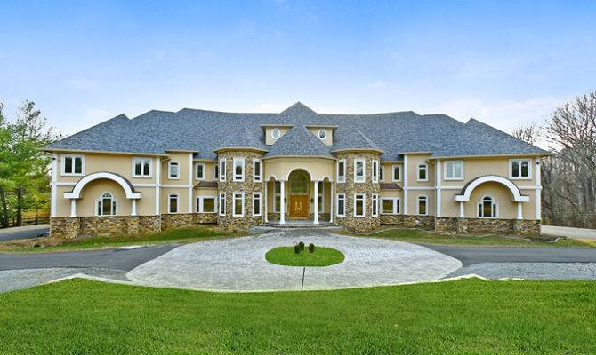 Unique Mega Mansion Potomac Homes Rich