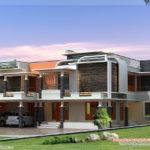 Unique Modern Villa Design Kerala Home