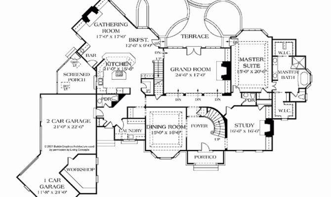 Unique Pics French Chateau House Plans Floor
