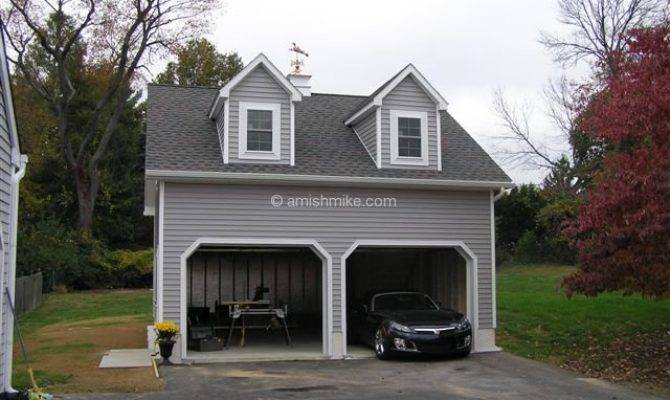 Unique Story Garages Two Car Garage