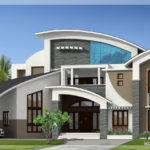 Unique Super Luxury Kerala Villa Home Design Floor Plans