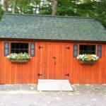 Unique Wooden Shed Ideas Grable Wood Roof Double Pair