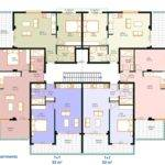 Unit Apartment Building Plans