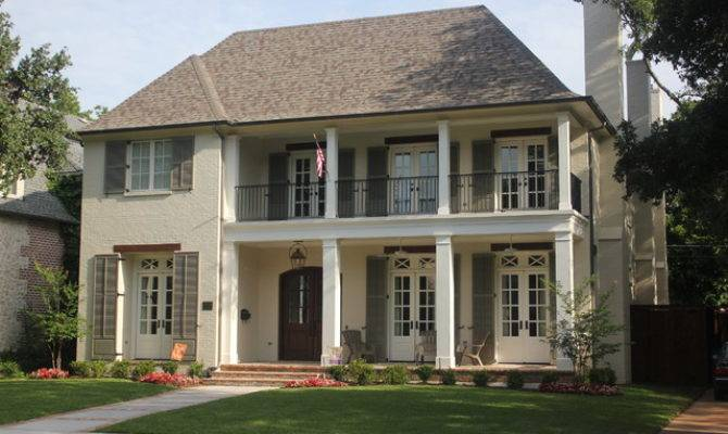 University Park French Colonial Traditional Exterior