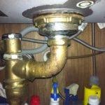 Unusual Kitchen Sink Drain Pipe Home Improvement Stack Exchange