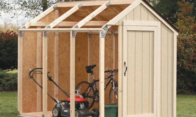 Useful Basics Shed Kit Peak Style Roof Detect