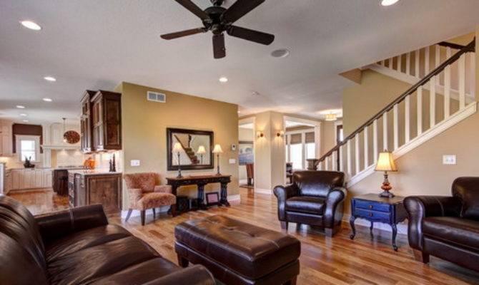 Useful Ideas Add Coziness Open Floor Plan Home