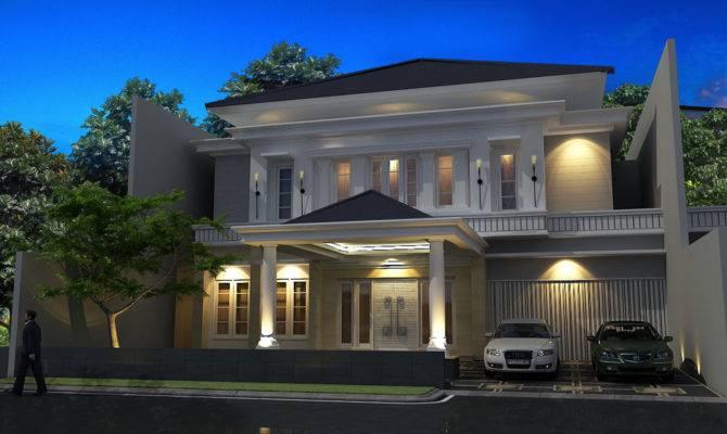 User Community Semi Classic House Style Menteng Djakarta