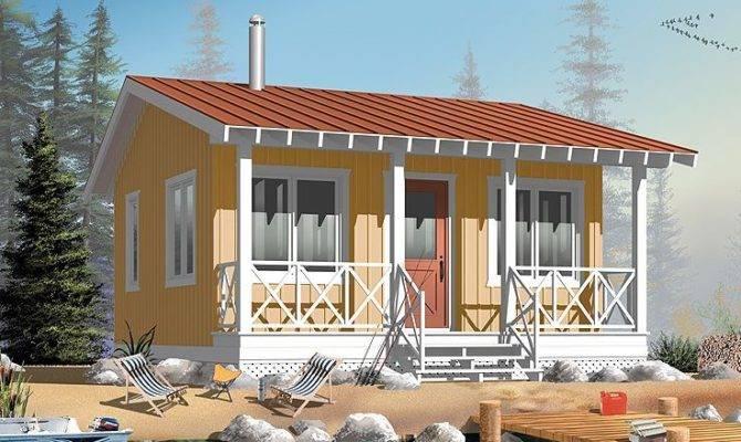 Vacation Bungalow Cabin Plans Interior Ideas Pinte