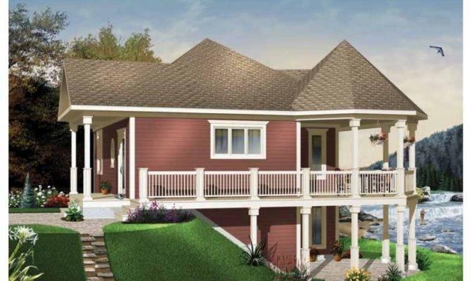 Vacation Friendly Hwbdo Cottage Builderhouseplans