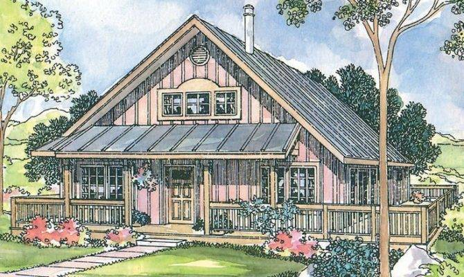 Vacation Home Plan Cabins Cottages Pinterest
