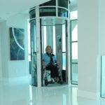 Vacuum Elevator Pve Wheelchair Accessible Home Lift