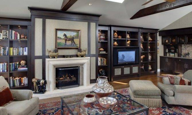 Vaulted Ceiling Room Features Length Rich Oak