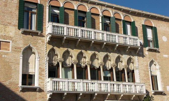 Venice Balcony House Oriental Byzantine Balconies