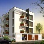 Very Best Modern Apartment Building Elevation Design