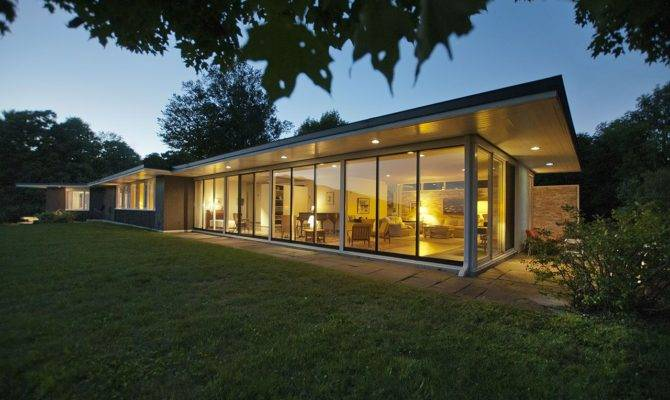 Very Comfortable Mid Century Modern Homes Plans