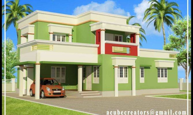 Very Simple Kerala House Elevation