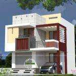 Very Small Double Storied House Kerala Home Design Floor Plans