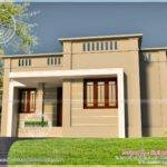 Very Small House Exterior Kerala Home Design Floor Plans