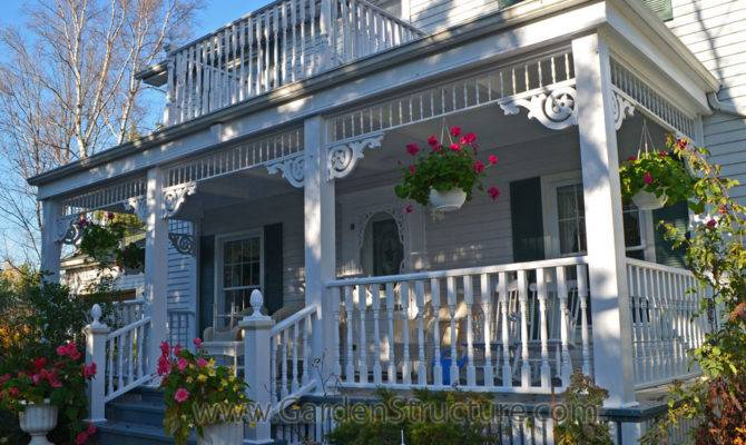 Victorian Front Porch Designs Railings